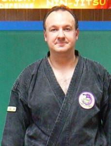 Stéphane Bellemain en kimono.